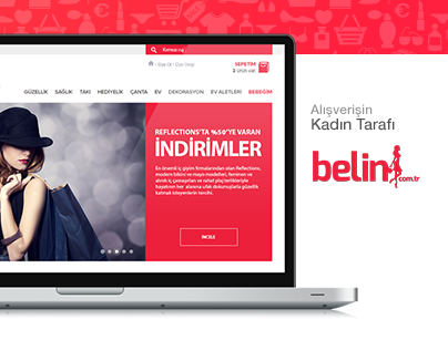 belin e_commers web site
