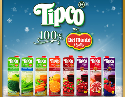 Tipco 100% Juices by Del Monte - Facebook photos
