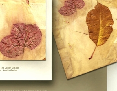 Decorative arts-Handmade paper