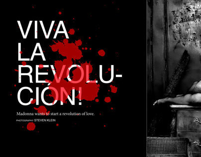 Viva La Revolucion! Editorial Spread