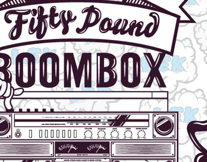 If i was an old school 50 Pounds Boombox