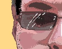 Pixel Art Self Portrait