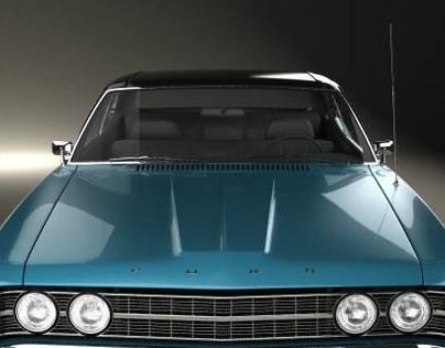 Ford Galaxie 500 fastback 1969