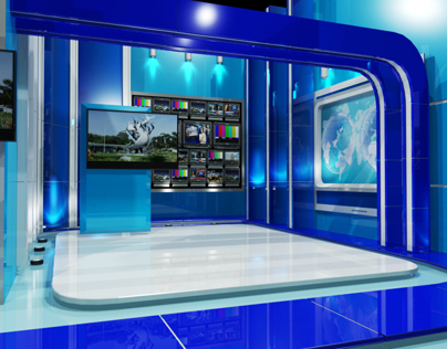 Virtual Set Kompas Jatim