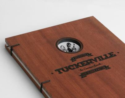 TuckerVille Logo & Book design