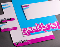 GeekBrief - Brand Identity, Graphics
