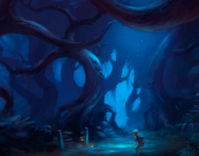 Hart's Hollow Concept art