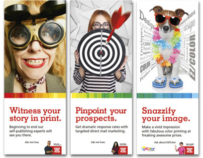 In-Store Display Banners for AlphaGraphics CPS