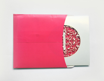 Kaveri's Wedding Card