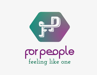 For People logo concept