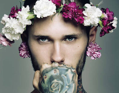 flower power / and men magazine