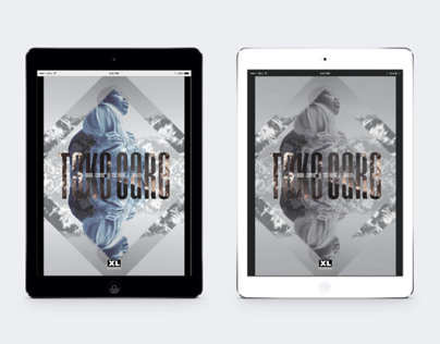 XL Recordings - 'Take Care' Poster Designs