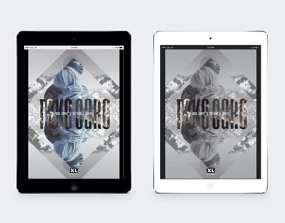 XL Recordings - Take Care Poster Designs