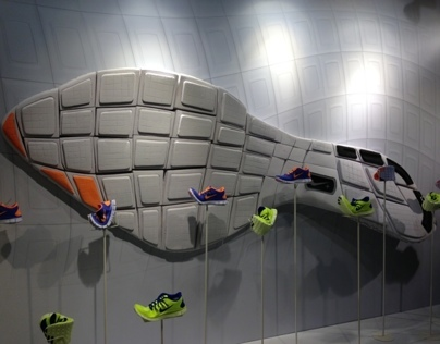 mock-up suola, nike, milano