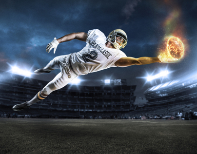 Football Photo Shoot + Retouch