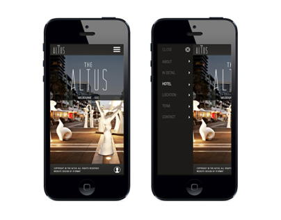The Altus - Mobile Website
