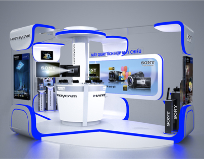 Handycam activation booth