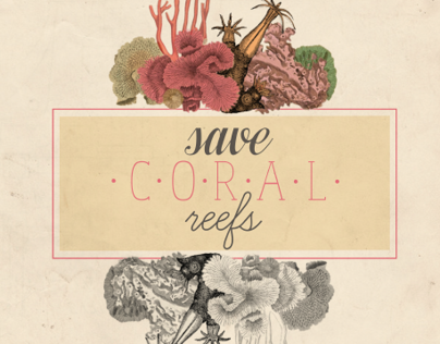 Coral Reef Awareness Poster