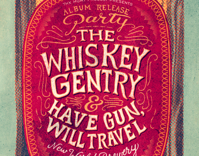 The Whiskey Gentry - Concert Poster 1