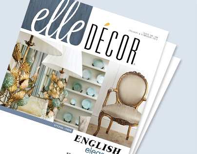 Elle Decor Magazine Redesign