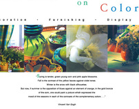 Eight-page Brochure - Tricia Guild on Color