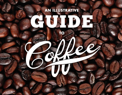 Illustrative Coffee Guide website