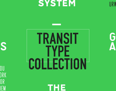 Transit Type Collection by URW++
