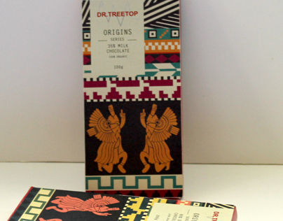 Dr. Treetop Chocolate Packaging