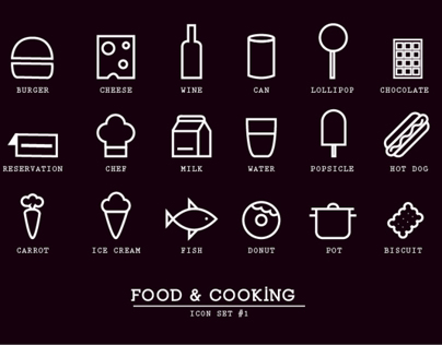 Food & Cooking icons #1