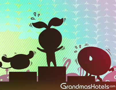Grandmas Hotels Marching Mascot Campaign Video