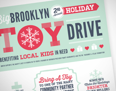 2nd Annual Big Brooklyn Holiday Toy Drive