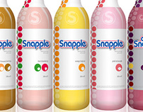 Snapple - Brand Identity, Packaging