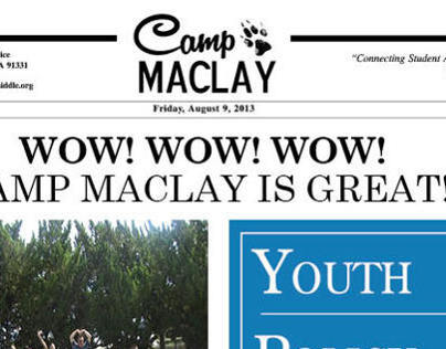 CAMP MACLAY, Newsletter