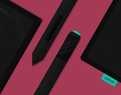 Wacom Bamboo Tablet.
