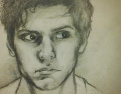 Evan Peters - Sketch