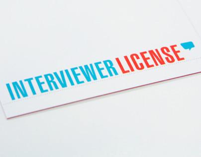Interviewer License for TicketNetwork