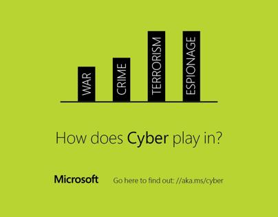 Microsoft Cyber Ad