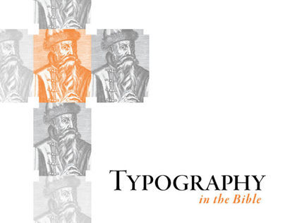 Typography in the Bible