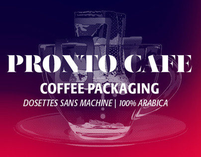 PRONTO Coffee Packaging