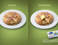 Advertising campaign of Butter Valio
