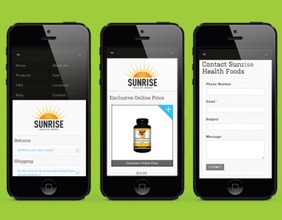 Sunrise Health Foods