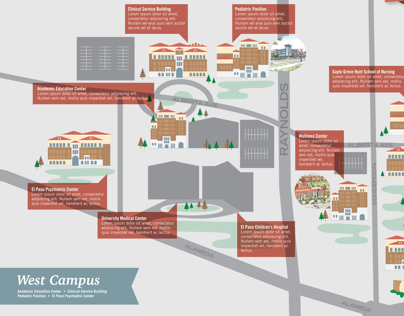 Texas Tech Campus Map