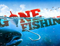 Gone Fishin Series Design