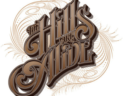 The Hills Are Alive - Festival Logo