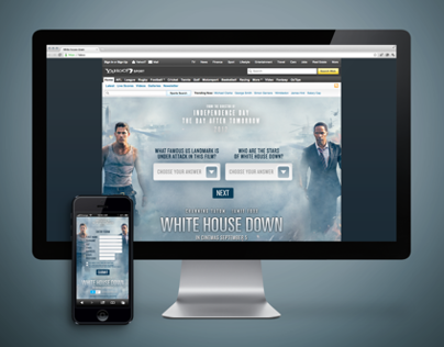 White House Down - Consumer Promotion