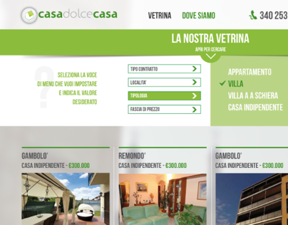 Realtor Web Site (Design)