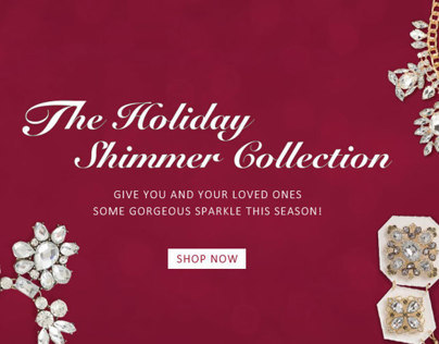 Holiday - Web banner