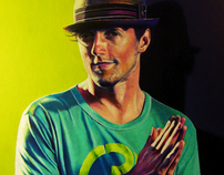 Jason Mraz | Colored Pencil Portrait
