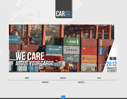 Car Go Transportation HTML5 Template 300111566