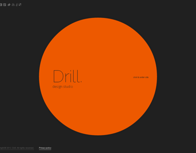 Drill Circle Design Studio HTML5 Template 300111600